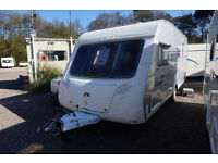 2008 SWIFT CONQUEROR 530 4 BERTH CARAVAN - END WASHROOM - TOP SPEC