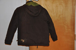 NORTH FACE youth winter jacket, waterproof, brown, size M St. John's Newfoundland image 2