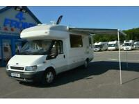 Auto-Sleepers Amethyst FORD TRANSIT LEZ COMPLIANT 4 BERTH 4 TRAVELLING SEATS