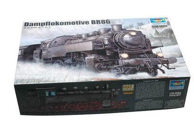 Trumpeter 9360217 Dampflokomotive Baureihe 86 1:35 Eisenbahn Zug Modellbausatz