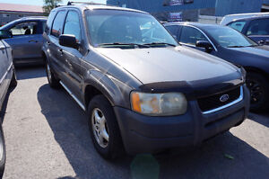 2002 Ford Escape XLS SUV, Crossover In Good Condition!!