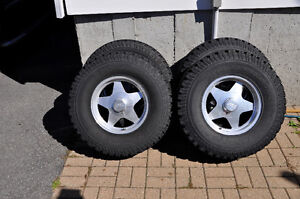 """31"""" tires and rims for Jeep TJ"""