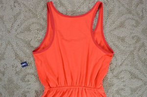 Old Navy women's coral orange jersey knit dress Small NWT London Ontario image 1