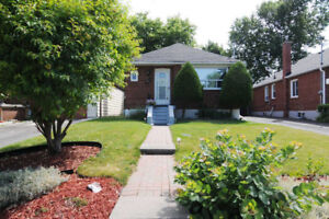 Full Detached (2+1 BR, 2 BA) East York for Rent Available Sep1st