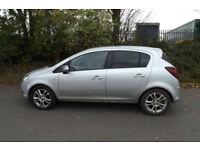 2010 59 Vauxhall Corsa 1.4i 16v SXi 5dr 67K LOW MILES FVSH CHEAP TAX BAND 55 MPG
