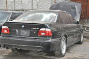 E39 BMW 540i part out
