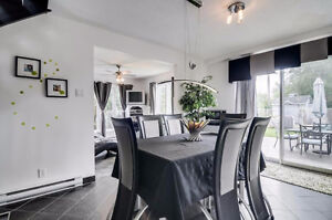 Nice split levels, living room with cathedral ceiling. To see! Gatineau Ottawa / Gatineau Area image 5