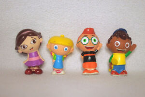 4-Disney-Little-Einsteins-Bath-Toy-Figures-Leo-June-Annie-Quinc