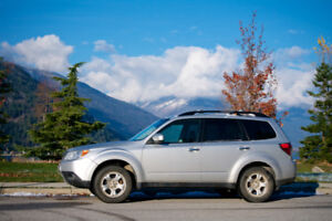 Silver 2011 Subaru Forester Limited edition, 108,500 km