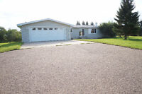 Spacious Bungalow w/ Hobby Farm on 47.39 Acres