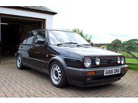 Mk2 golf 20vt black, GTI, 1990