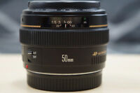 Canon 50mm f1.4 - LIKE NEW