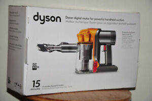 New Dyson Cordless Rechargeable Handheld DC43 Vacuum-sealed box