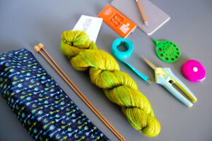 Neglected and/or extra Knitting Supplies