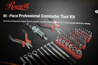 Rosewill 90 pc Professional Computer tool kit