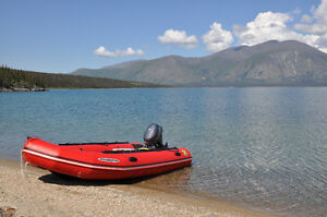 Zodiac Inflatable Boat and Motor