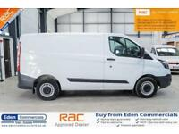 2015 65 FORD TRANSIT CUSTOM 2.2 270 LR P/V 99 BHP DIESEL WHITE PANEL VAN
