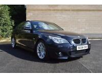 2009 09 BMW 5 SERIES 2.0 520D M SPORT BUSINESS EDITION 4D AUTO 175 BHP DIESEL