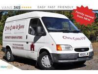 Ford Transit ORIGINAL CONDTION FAMILY OWNED BANANA MAIFOLD TRANSIT SWB MEDIUM R