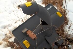 """Sears 36"""" Front Mount Snow Blower"""