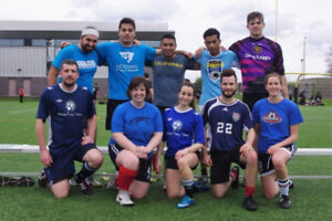 Looking for soccer players in a coed recreational team in Hull