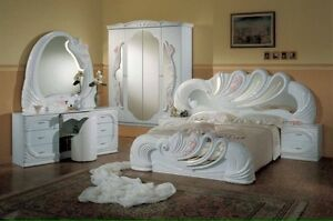 ITALIAN BEDROOM SET FURNITURE HIGH END just BEAUTIFUL