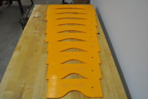 Arched Raised Panel Templates