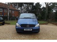 2005 55 Mercedes-Benz Vito 2.1TD Long Dualiner 111CDI 5 SEATER CREW VAN LWB AC