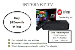IPTV at an affordable price with very stable server