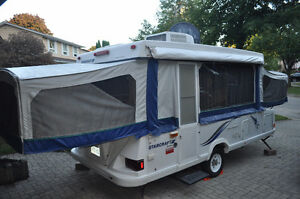 12' Three-Way Pop-Up tent trailer with AC! Kitchener / Waterloo Kitchener Area image 1