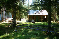 40 ACRES w/CABIN, OUTHSE, NAT'L SPRINGS ETC SHERIDAN LAKE AREA
