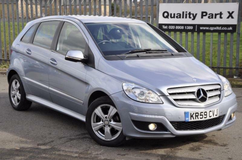 2009 mercedes benz b class 1 5 b160 se cvt 5dr in wembley london gumtree. Black Bedroom Furniture Sets. Home Design Ideas