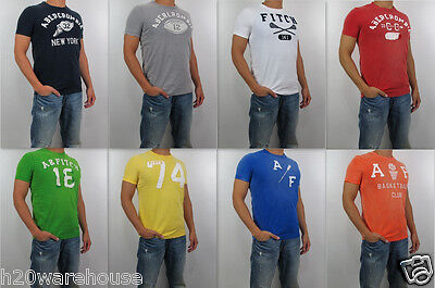 NWT Abercrombie Fitch A F 2013 Men 's Muscle Fit Beaver Point Tee T Shirt