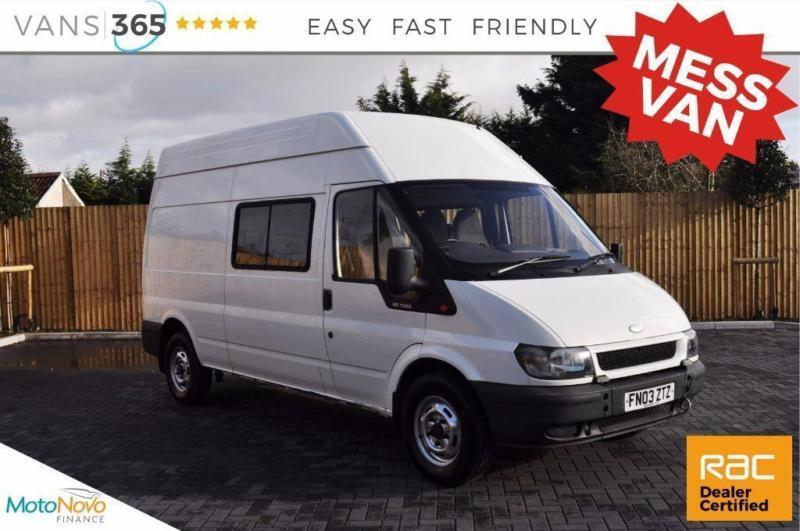 Ford Transit NO VAT MESS VAN 5 SEATER TOW BAR MICROWAVE IDEAL CAMPER CONVERSION