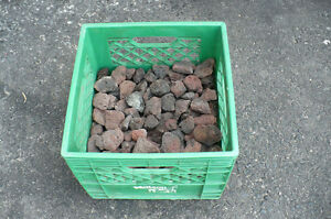 BBQ Lava Rocks CLEAN Bigger Pieces Cooking CLEARANCE