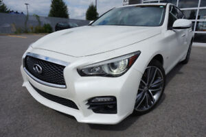INFINITI Q50S 2017 3.0L  NAV CAMERA LIKE NEW! 542$/MOIS 32995$