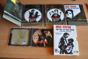 Max payne 1 & 2 in great condition! everything!
