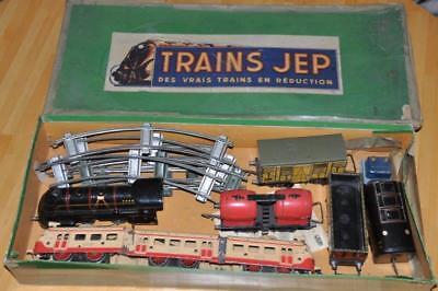 Spur-0 Tinplate Konvolut von Trains Jep