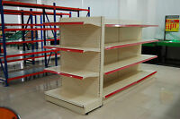 GONDOLA SHELVING AVAILABLE FOR SALE!
