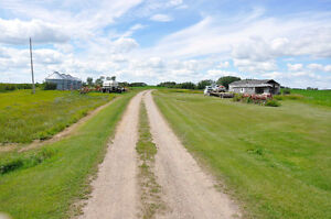 Home quarter with buildings and creek by Neudorf- 2nd qrtr avail Regina Regina Area image 3