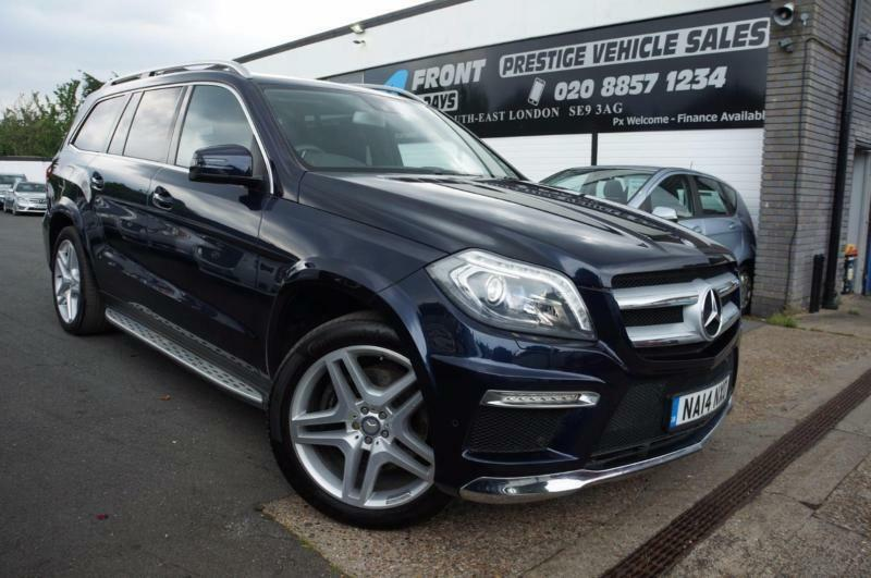 Exceptional 2014 MERCEDES GL CLASS GL350 CDI BLUETEC AMG SPORT 3.0 DIESEL AUTOMATIC 7  SEATER