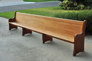 church pew - Church Pews For Sale
