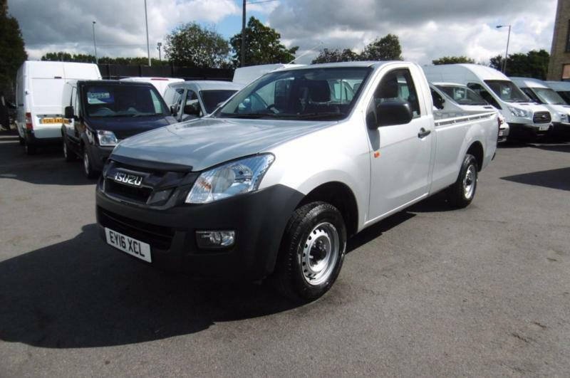 2016 ISUZU D MAX 2.5 TWIN TURBO 164 BHP 6 SPEED DIESEL SINGLE CAB