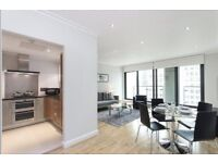 STUNNING 2 BEDROOM WITH 2 BALCONIES, 2 BATH, PARKING, FURNISHED IN Discovery Dock East, Canary Wharf