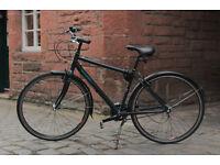 "Raleigh Hybrid Mens City Bike 18"" (3-speed Hub)"