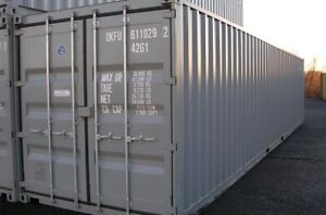 NEW 40' HC CONTAINER. SEA CAN. SHIPPING CONTAINER