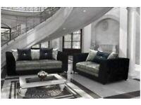 Brand new crushed velvet corner or 3+2 seater sofa sets 🔥😍✅