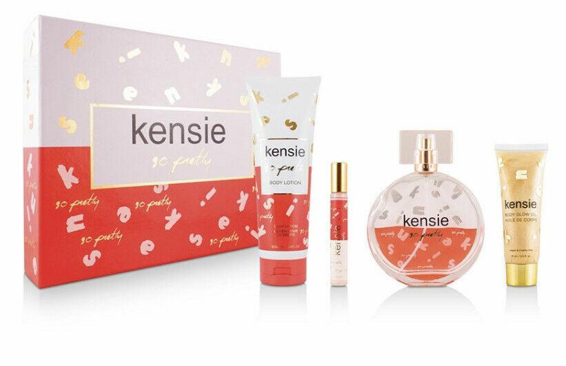 Kensie 4 Pieces So Pretty Eau De Parfum Spray Gift Set BONUS 8oz Mist  - $39.99