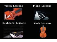 Violin, Viola, Keyboard, Piano and Music Theory Lessons - Experienced Teacher - Birmingham -