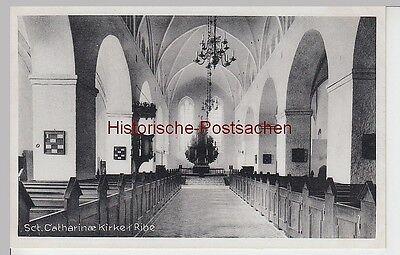 (97210) AK Ribe, Sct. Catharinæ Kirke, vor 1945